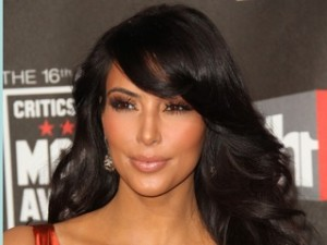 Recreating Kim Kardashian's glamorous looks is simple with Cinderella Hair extensions.
