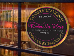 Finding your nearest Cinderella Approved Salon is easy, simply enter your name & postcode.