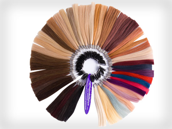 Cinderella Hair's vast collection of colours