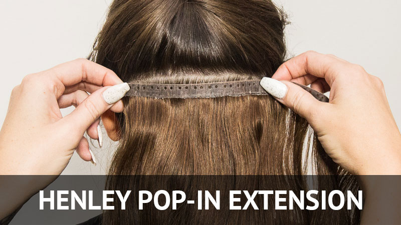 Shop Henley Pop-in Hair Extension
