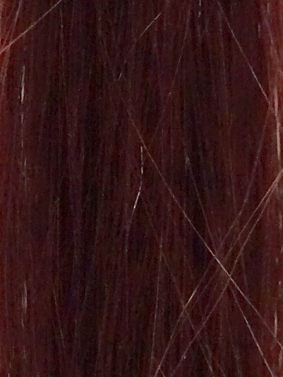 Image of Cinderella Hair Extensions 1B Wine Red Hair Extensions Swatch. Pre-Bonded Hair Extensions & Application-I Stick Tip/I-Tip Hair Extensions