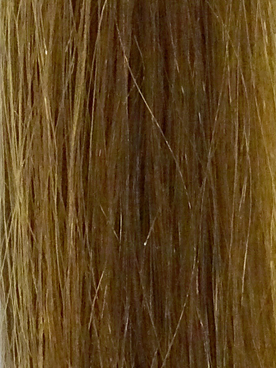 Image of Cinderella Hair Extensions Colour 7A Brown Brunette. Pre-Bonded Hair Extensions & Application-I Stick Tip/I-Tip Hair Extensions