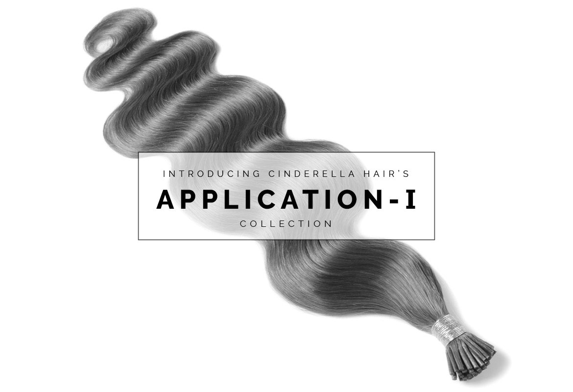 Image of Stick Tip I-Tip Hair Extensions Cinderella Hair's Application-I Collection