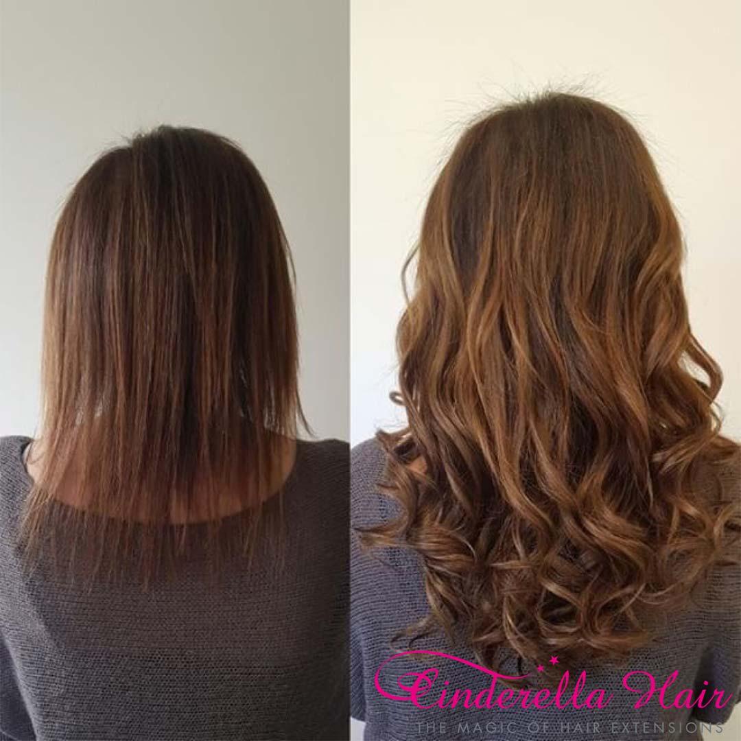 Cinderella Hair Extensions Before After 20 Cinderella Hair