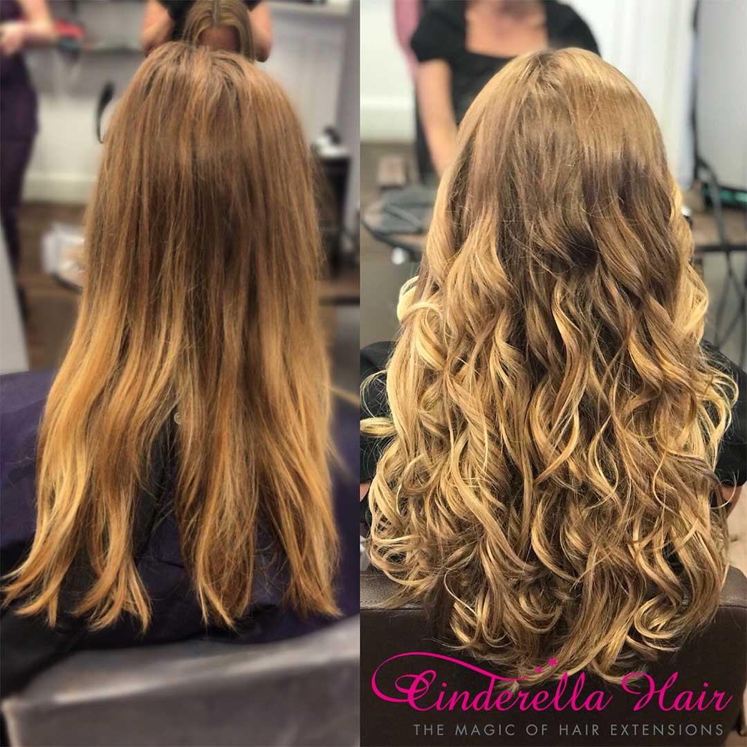 Cinderella Hair Extensions Before After 18 Cinderella Hair