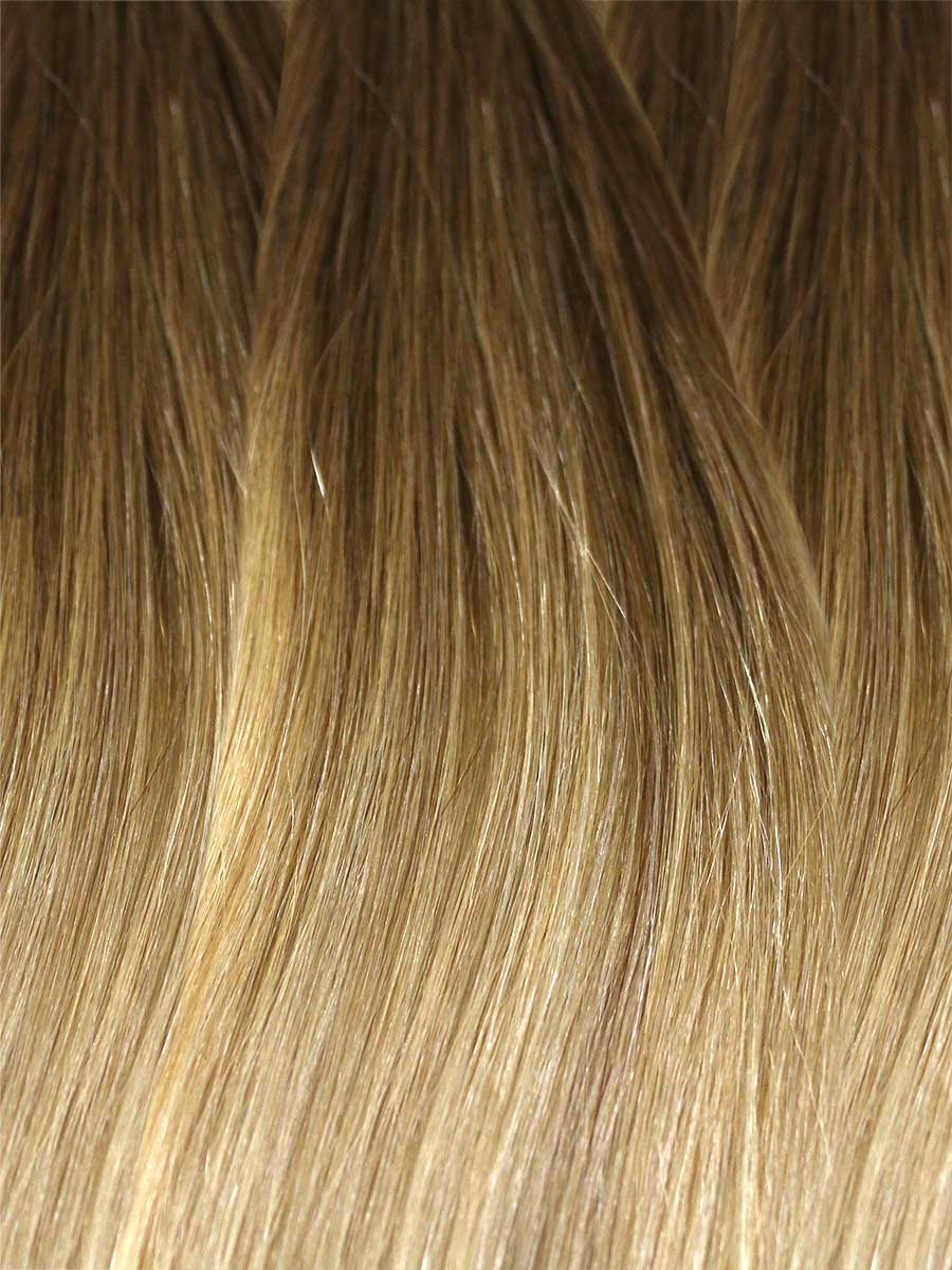 Image of Cinderella Hair's Balayage Hair Extension's BA1 Colour Swatch
