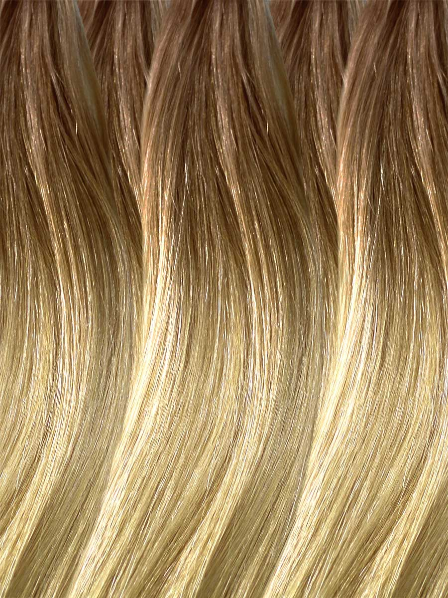 Image of Cinderella Hair Extension's Colour BA12. Pre-Bonded Balayage Hair Extensions