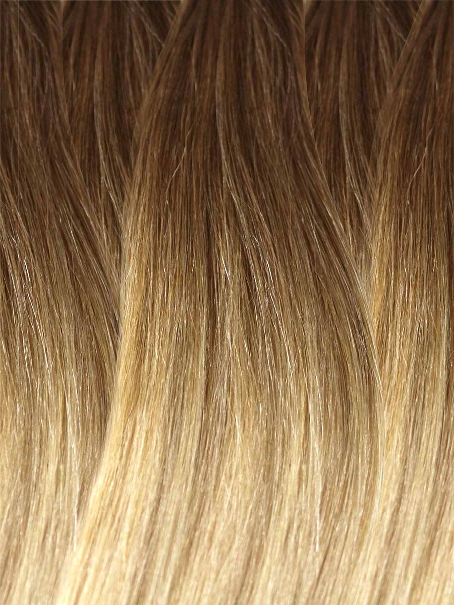 Image of Cinderella Hair's Balayage Hair Extension's BA6 Colour Swatch
