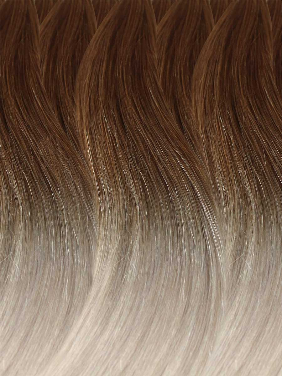 Image of Cinderella Hair's Balayage Hair Extension's BA7 Colour Swatch