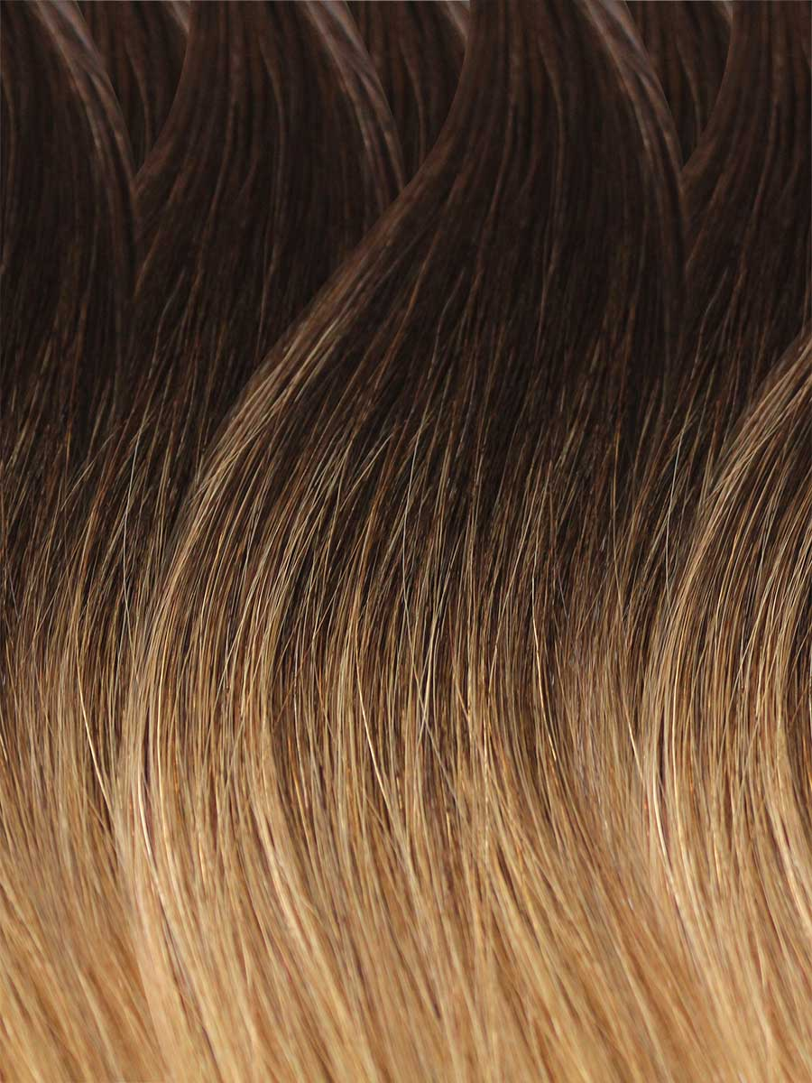 Image of Cinderella Hair's Balayage Hair Extension's BA8 Colour Swatch