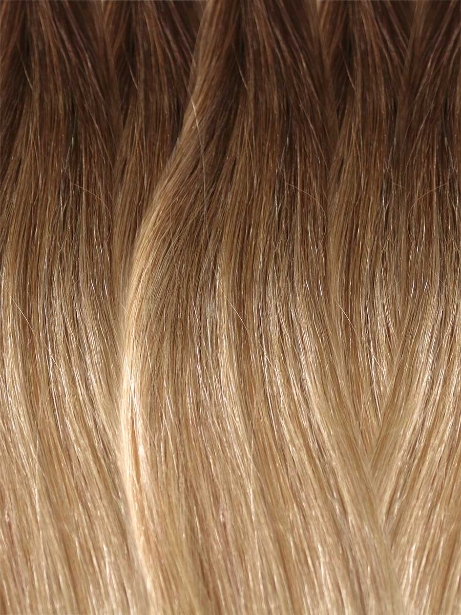 Image of Cinderella Hair's Balayage Hair Extension's BA9 Colour Swatch