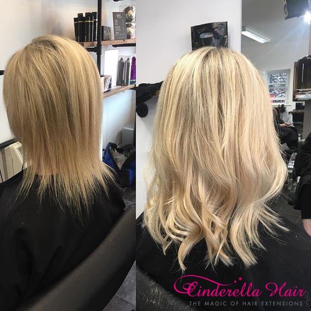 Cinderella Hair Extensions Before After 15 Cinderella Hair
