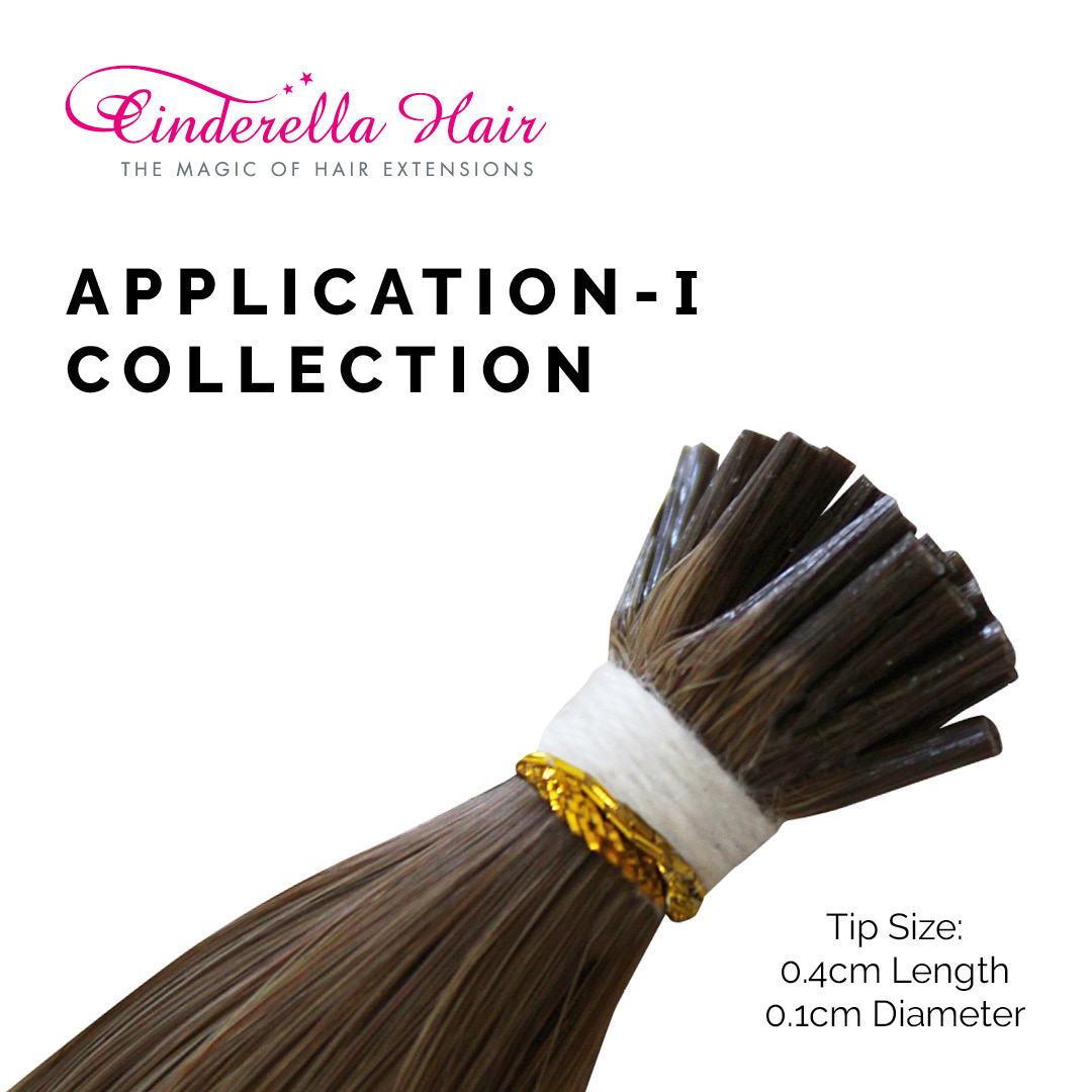Image of Cinderella Hair's Application-I Stick Tip I-Tip Hair Extensions Tip Size