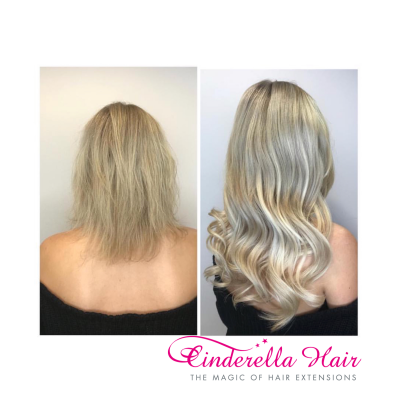 Cinderella Hair Extensions Application-I Stick Tip/I-Tip Hair Extensions