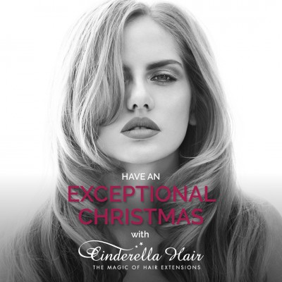 Hair Extensions for Christmas. Cinderella Hair Extensions